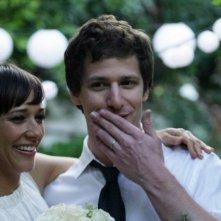 Celeste and Jesse Forever: Andy Samberg accanto a Rashida Jones in una scena