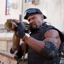 I mercenari 2: Terry Crews nei panni di Hale Caesar in una scena