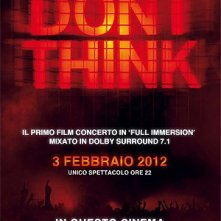 Don\'t Think: la locandina del film
