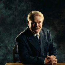 The Master: Philip Seymour Hoffman in una scena del film