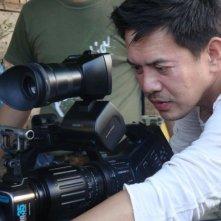 Thy Womb: il regista Brillante Mendoza sul set del film