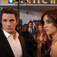 90210: Jessica Stroup e Matt Lanter nell'episodio 'Tis Pity