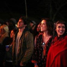 90210: Matt Lanter, Jessica Stroup e Shenae Grimes nell'episodio Blood is Thicker than Mud