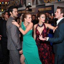 90210: Michael Steger, AnnaLynne McCord, Jessica Stroup e Matt Lanter nell'episodio 'Tis Pity