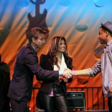 90210: Ron Melendez, La Toya Jackson e Tristan Wilds nell'episodio Blood is Thicker than Mud