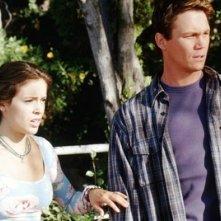 Brian Krause e Holly Marie Combs nell'episodio L'amore di Sam della serie Streghe