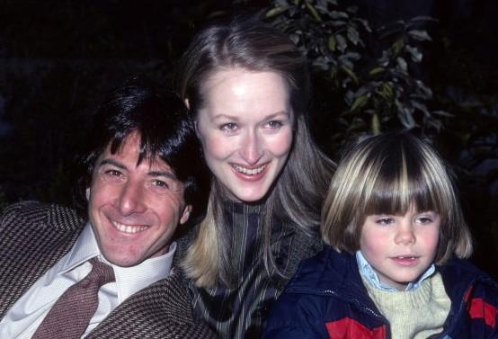 Dustin Hoffman Con Meryl Streep Sul Set Di Kramer Contro Kramer Con Justin Henry 248140
