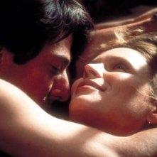 Dustin Hoffman ne Il maratoneta in una scena d'amore con Marthe Keller