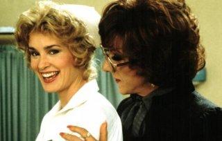 Dustin Hoffmann con Jessica Lange in Tootsie