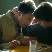 Dustin Hoffmann e Tom Cruise in Rain Man