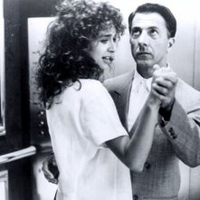 Dustin Hoffmann e Valeria Golino in Rain Man