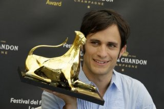 Gael Garcia Bernal a Locarno per ritirare l'Exellence Award
