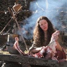 Lines of Wellington: Joana de Verona alle prese con della carne animale in una scena