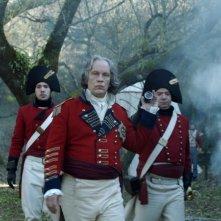 Lines of Wellington: John Malkovich è il Generale Wellington in una scena del film