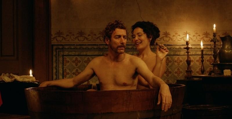Lines Of Wellington Marcello Urgeghe Insieme A Soraia Chaves In Una Scena D Intimita Tratta Dal Film 248288