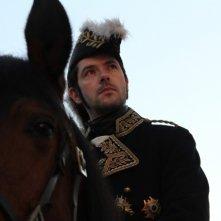 Lines of Wellington: Melvil Poupaud a cavallo in una scena del film è il Maresciallo Masséna
