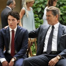 Love Is All You Need: Pierce Brosnan e Sebastian Jessen in una scena del film