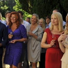 Love Is All You Need: Pierce Brosnan, Paprika Steen, Trine Dyrholm e Molly Blixt Egelind in una scena