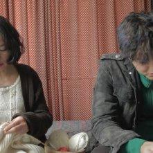 Pietà: Jo Min-su con Lee Jung-jin in una scena