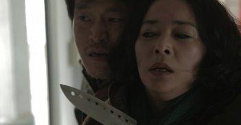 Pietà: Jo Min-Su in pericolo in una scena del film