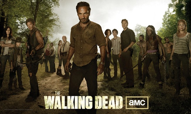 The Walking Dead Un Poster Con Sviluppo Orizzontale Del Cast Della Stagione 3 248019