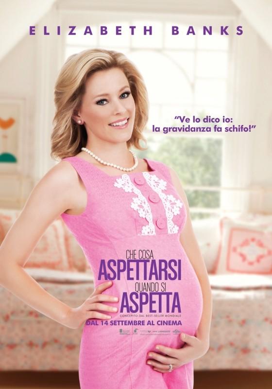 Che Cosa Aspettarsi Quando Si Aspetta Il Character Poster Italiano Di Elizabeth Banks 248403
