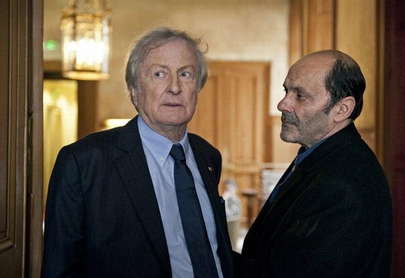 Cherchez Hortense Il Protagonista Jean Pierre Bacri In Una Scena Insieme A Claude Rich 248356