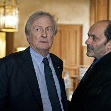 Cherchez Hortense: il protagonista Jean-Pierre Bacri in una scena insieme a Claude Rich