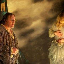L'homme qui rit: Gérard Depardieu in una scena del film