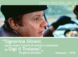 Paolo Villaggio in Fantozzi (1975) - la nostra eCard: condividi sui social le immagini e frasi dei tuoi film e attori preferiti!