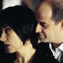 Toni Servillo con Licia Maglietta in Luna Rossa