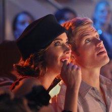 90210: Jessica Stroup e Trevor Donovan nell'episodio Project Runaway