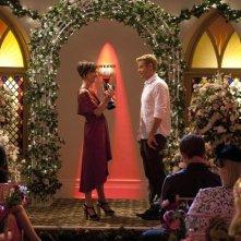 90210: Jessica Stroup e Trevor Donovan nell'episodio Vegas, Maybe?
