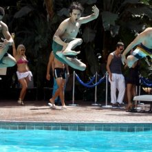 90210: Michael Steger, Matt Lanter e Tristan Wilds nell'episodio Vegas, Maybe?
