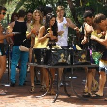 90210: Shenae Grimes, Matt Lanter, AnnaLynne McCord, Trevor Donovan e Tristan Wilds nell'episodio Vegas, Maybe?