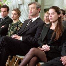 Holly Marie Combs, Alyssa Milano e Julian McMahon nell'episodio Il ritorno del Trio (1° parte) della serie TV Streghe