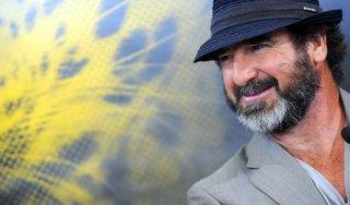 Un bel primo piano di Eric Cantona, a Locarno con Les mouvements du bassin