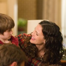 Jennifer Garner e CJ Adams sono Cindy e Tim nel film The Odd Life of Timothy Green