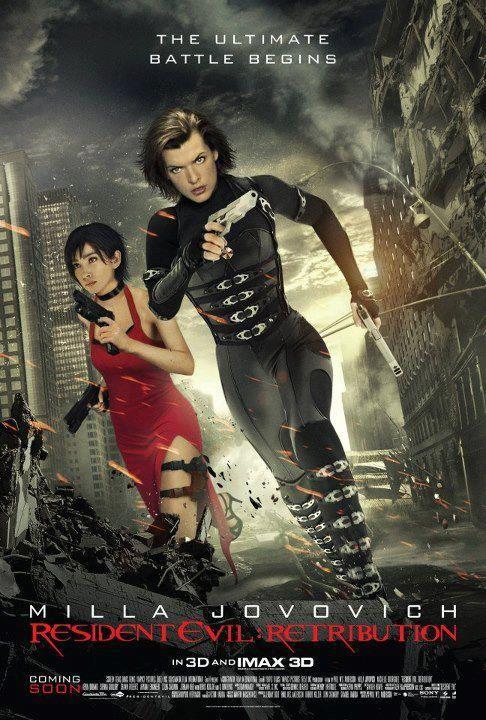Resident Evil Retribution Nuovo Poster Internazionale 248712