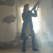The Day: una scena del film con Ashley Bell