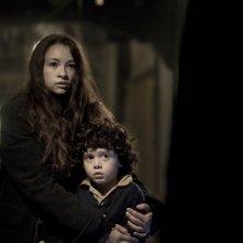 I bambini di Cold Rock: Jakob Davies e Jodelle Ferland in una scena del film