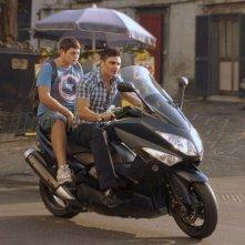 Salvatore Ruocco e  Alessio Gallo nel film L'intervallo