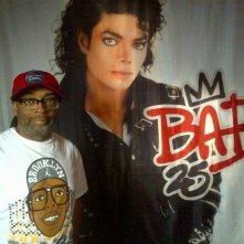 Bad 25: Stevie Wonder sul set del documentario sui 25 anni dell'album Bad di Michael Jackson