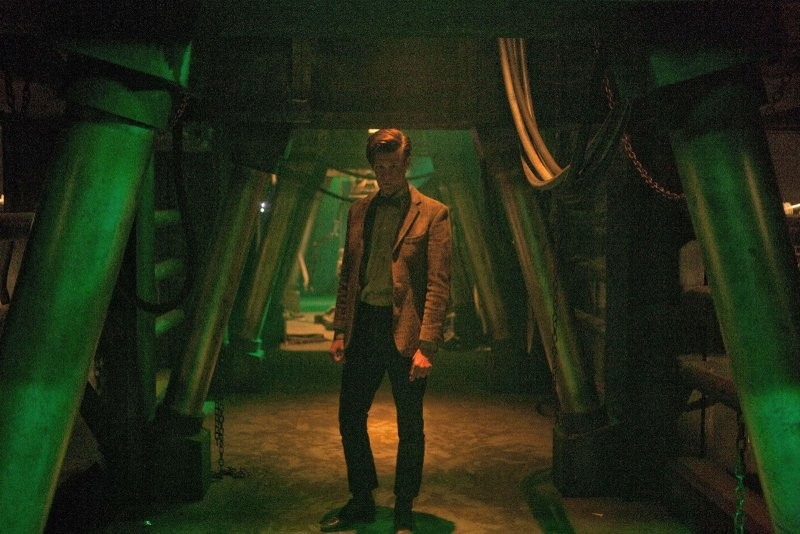 Doctor Who Matt Smith In Una Scena Dell Episodio Asylum Of The Daleks 248800