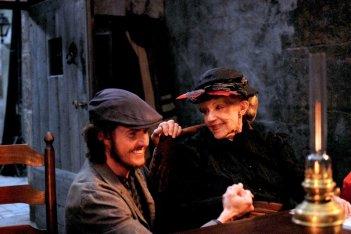 Gebo e l'ombra: Jeanne Moreau e Ricardo Trepa in una scena del film