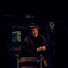 Gebo e l'ombra: Jeanne Moreau sorride in una scena del film