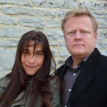 La cinquième saison: Peter Brosens e Jessica Woodworth, registi del film, in una foto promozionale