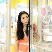 Penance: Sakura Ando in una scena del film ambientata in metropolitana