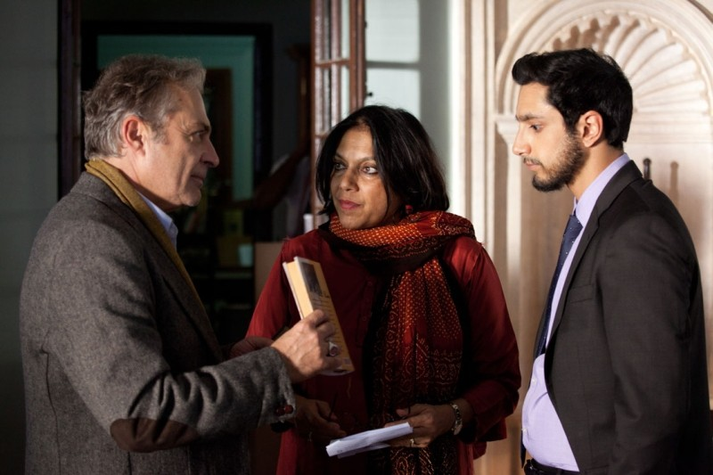 The Reluctant Fundamentalist La Regista Mira Nair Sul Set Del Film Insieme A Riz Ahmed E Haluk Bilgi 248880