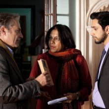 The Reluctant Fundamentalist: la regista Mira Nair sul set del film insieme a Riz Ahmed e Haluk Bilginer